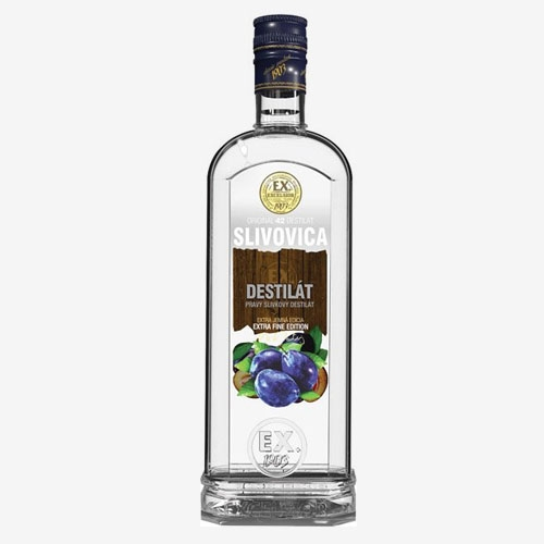 Slivovica Extra pravý destilát 42% - 750 ml