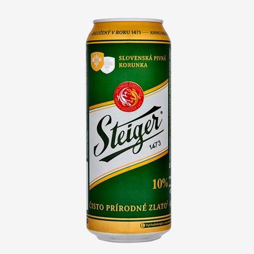 Steiger pivo 10% - 500 ml