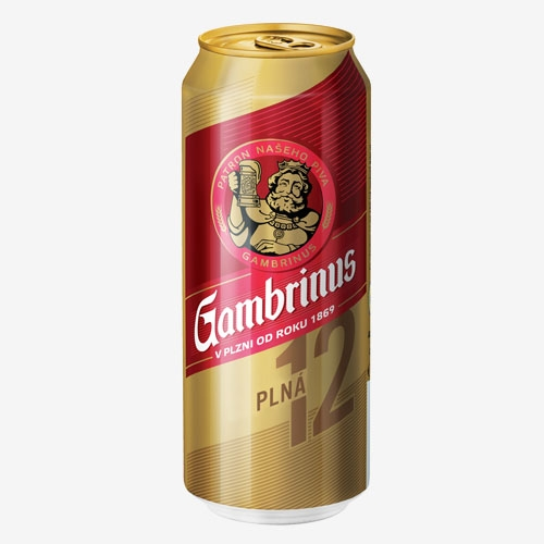 Gambrinus pivo 12% - 500 ml