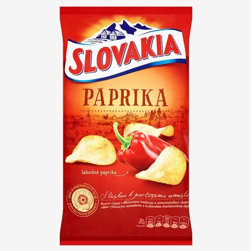 Slovakia Chips Paprika 140 g