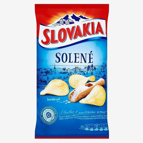 Slovakia Chips solené 130g