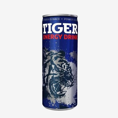 Tiger Energy drink 250 ml plech