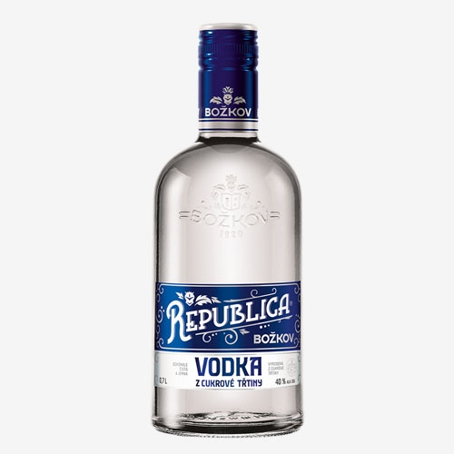 Božkov Republica Vodka z cukrovej trstiny 40% - 700 ml