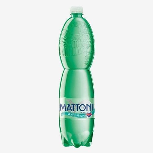 Mattoni minerálna voda jemne perlivá 1,5 L