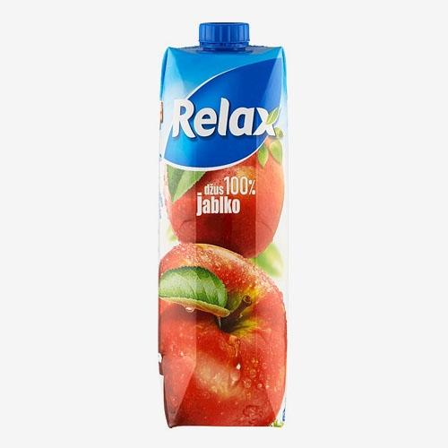 Relax džús 100% jablko 1 L