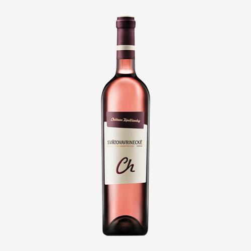 VZT Svätovavrinecké rosé Chateau Noir 750 ml