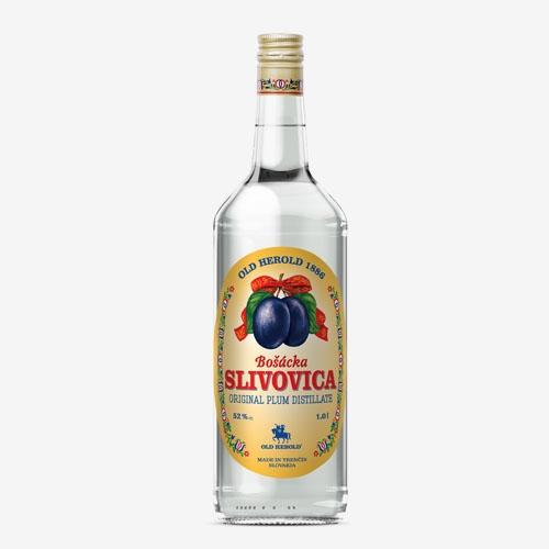 Old Herold Bošácka slivovica classic 52% - 1000 ml