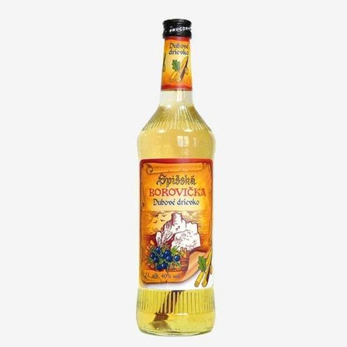 Spišská borovička dubové drievko 40% - 700 ml