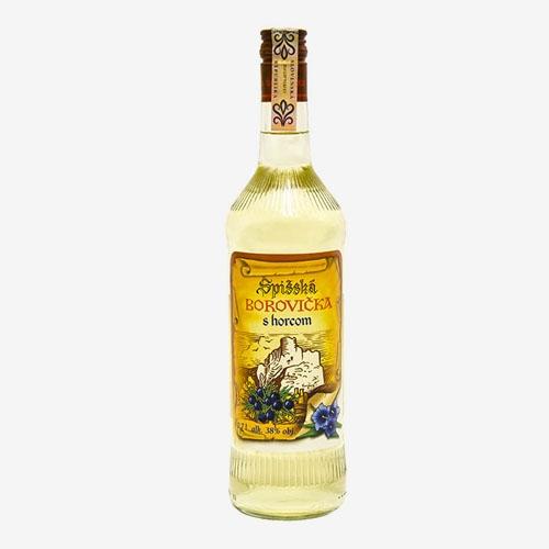 Spišská Borovička s horcom 38% - 700 ml