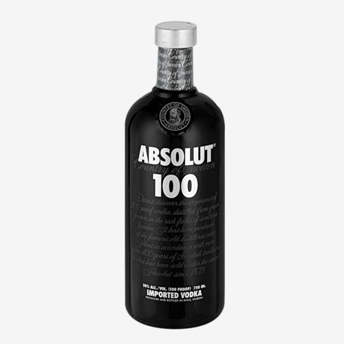Absolut 100 vodka - 700 ml