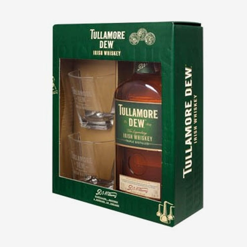 Tullamore Dew whisky 40% - 700 ml + 2 poháre