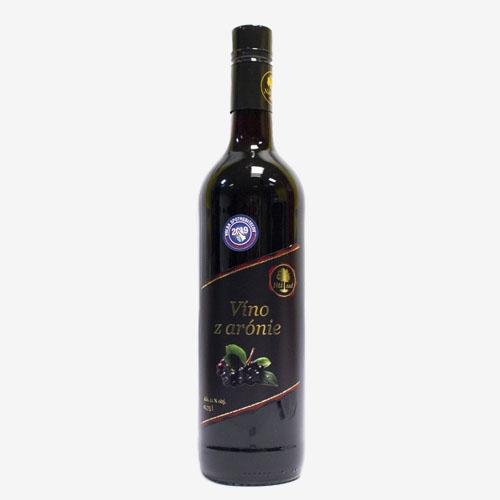 Náš sad Víno z arónie 750 ml