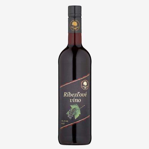 Náš sad Ríbezľové víno 750 ml
