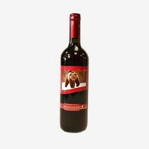 Medvedia krv červená - 750 ml
