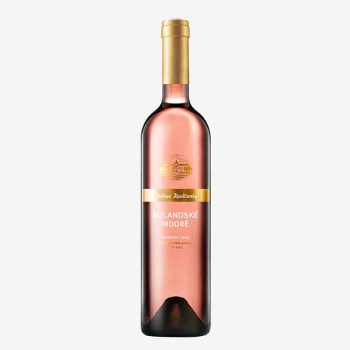 VZT Rulandské modré rosé Fresh neskorý zber - 750 ml