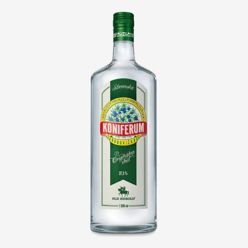 Old Herold Koniferum borovička Original 37,5% - 1000 ml
