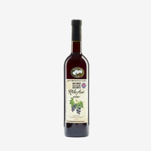 Čučoriedkové víno polosladké Château Krupina - 500 ml