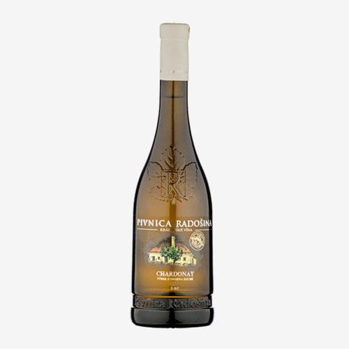 Chardonnay výber z hrozna suché - Pivnica Radošina 750 ml