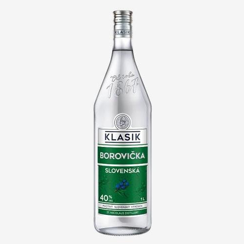 St. Nicolaus Klasik Slovenská Borovička 40% 1L